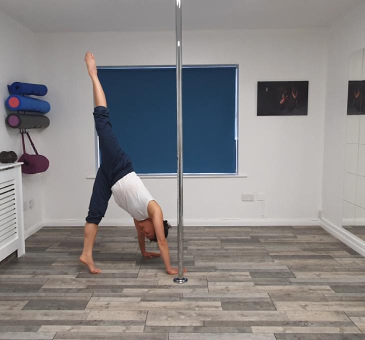 Contemporary Pole Tutorial with Shin Tan
